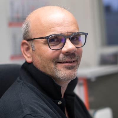 Geschäftsführer Andre Petat